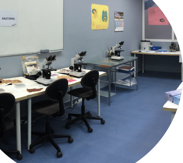 laboratorio para formación profesional