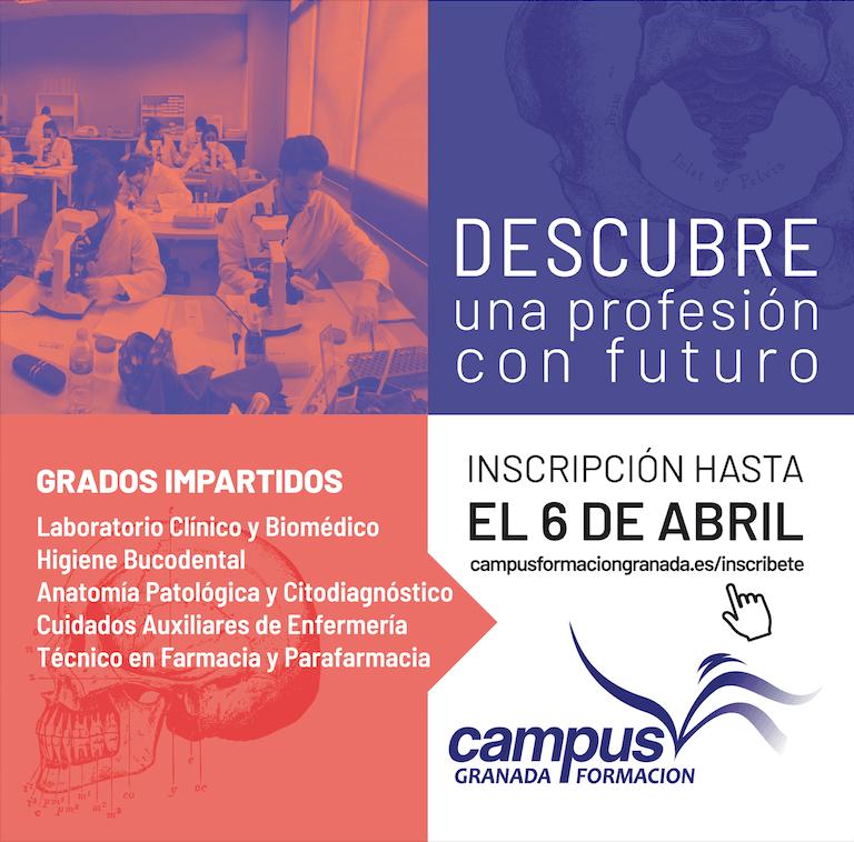 En abril abrimos nuestras puertas dispuestos a recibir a todos los que se interesen en el sector sanitario a nivel profesional. Descubre por qué visitar Campus Formación Granada en la Jornada de Puertas Abiertas Granada 2018.