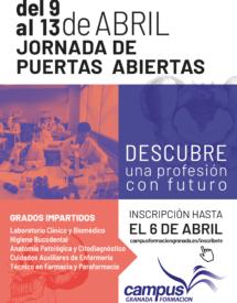 Jornada de puertas abiertas 2018 - Jornada de Puertas Abiertas Granada
