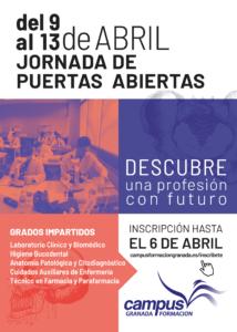Jornadas de puertas abiertas en Centro de Formación Profesional en Granada