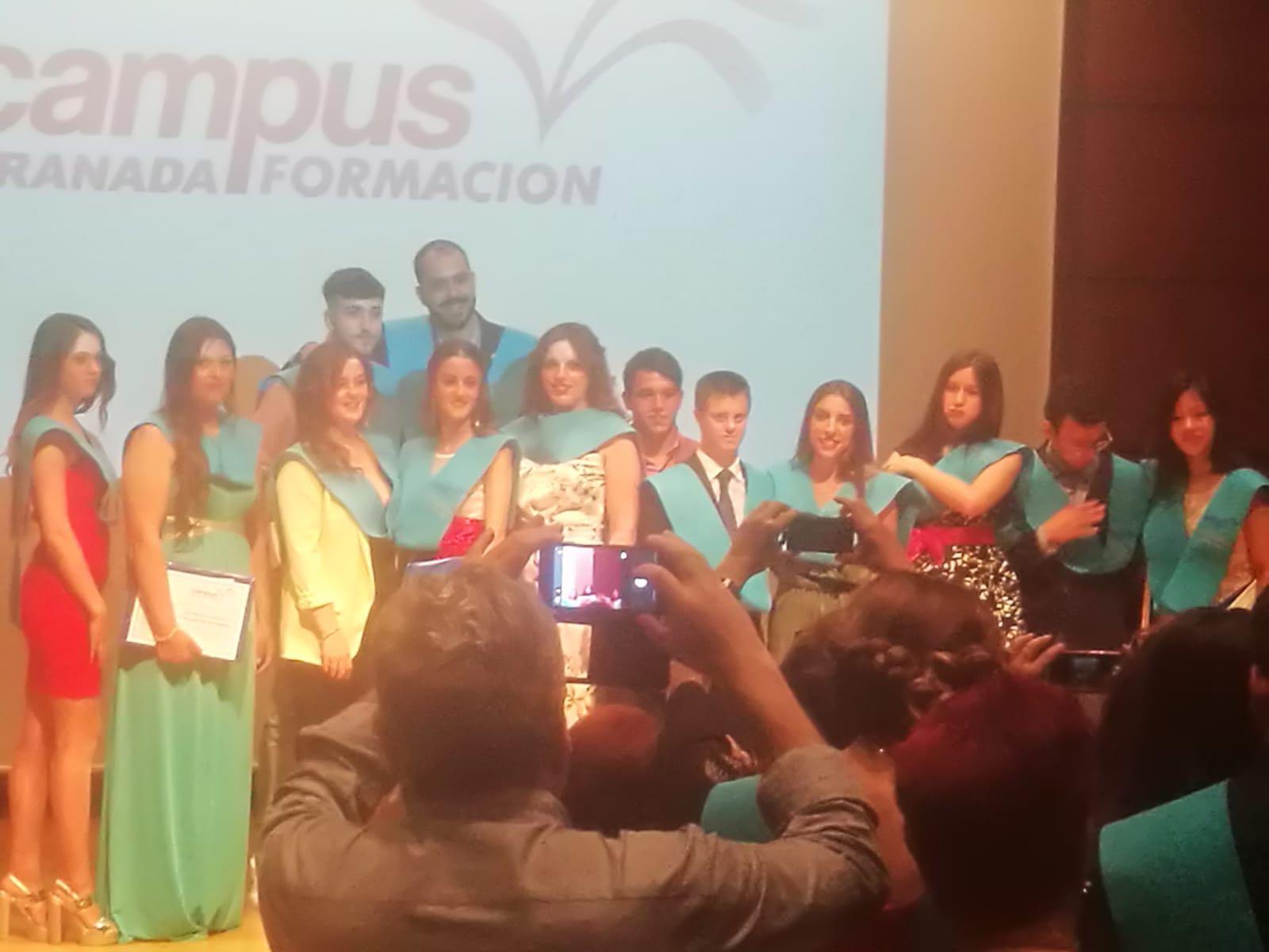 Graduación Campus Formación Granada - Promoción 2016/18