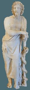 Asclepio - Mitología sanitaria, dioses griegos de la medicina y la salud