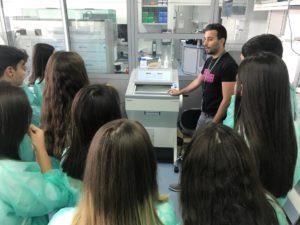 Visita al Instituto de Parasitología y Biomedicina López-Neyra - Noticias